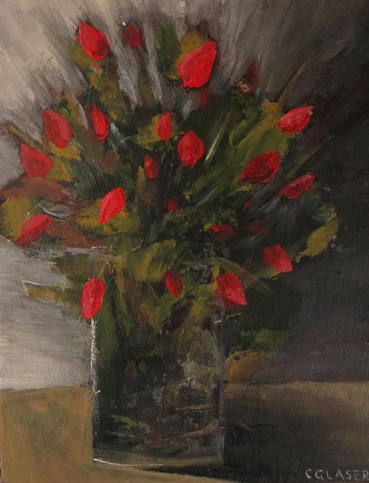 Floral Painting - Refined. by Christina Glaser