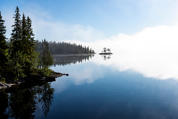 Reflection Of Trees In Lake Photograph by Tommy Andersson / EyeEm