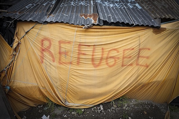 Refugee Tent In The Jungle Calais Photograph by Phil Le Gal