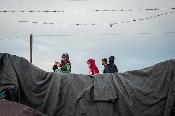 Refugees Camp In Idomeni Photograph by NurPhoto