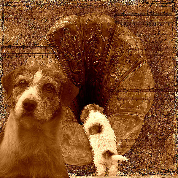 Music Digital Art - Remembering His Masters Voice by Veronica Ventress