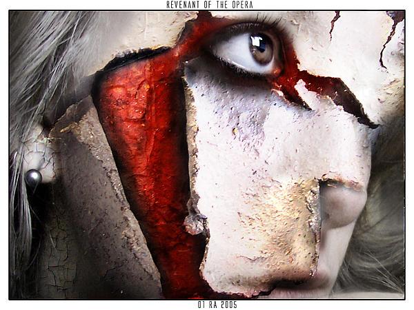 Horror Digital Art - Revenant Of The Opera by Robert  Adelman