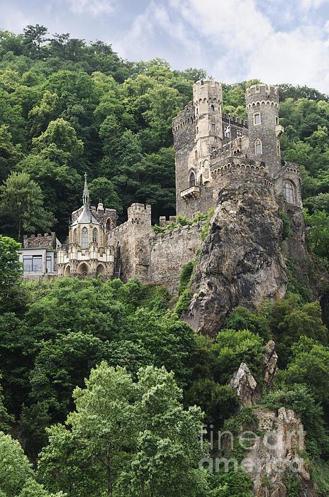 German Culture Photograph - Rheinstein Castle by Oscar Gutierrez