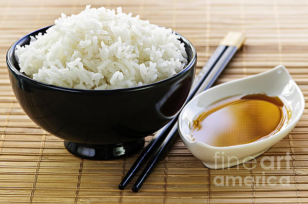 Rice Photograph - Rice Meal by Elena Elisseeva
