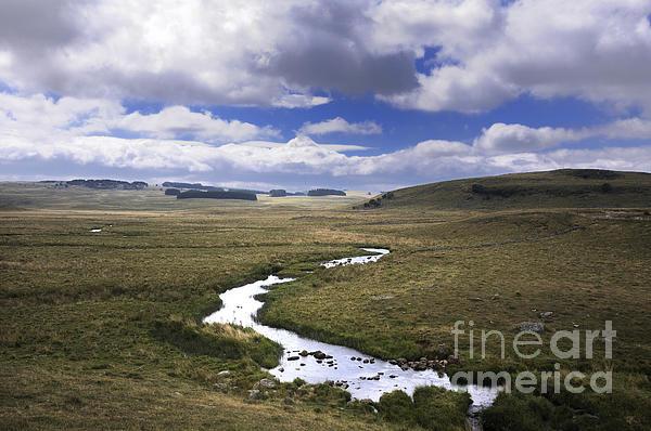 Outdoors Photograph - River In A Landscape by Bernard Jaubert