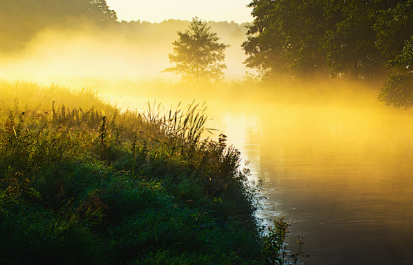 River Of The Mist Photograph by Michal Sleczek