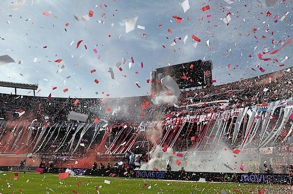 River Plate V Boca Juniors - Primera A Photograph by Santiago Rios
