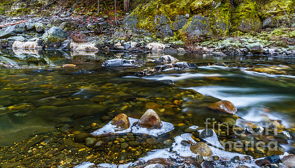 South Fork American River Photograph - River Run by Mitch Shindelbower