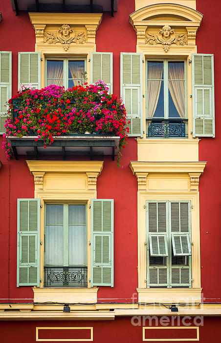 Cote D'azur Photograph - Riviera Windows by Inge Johnsson