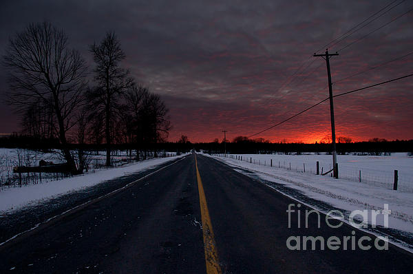 Road Photograph - Road To Success by Cheryl Baxter