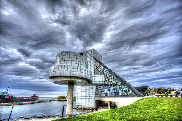 Rock Hall Photograph - Rock And Roll Hall Of Fame by Shawn Everhart