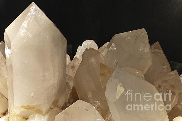 Heiko Photograph - Rock Crystals by Heiko Koehrer-Wagner