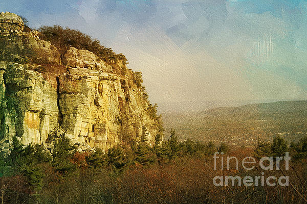 Cliff Photograph - Rock Of Ages by A New Focus Photography