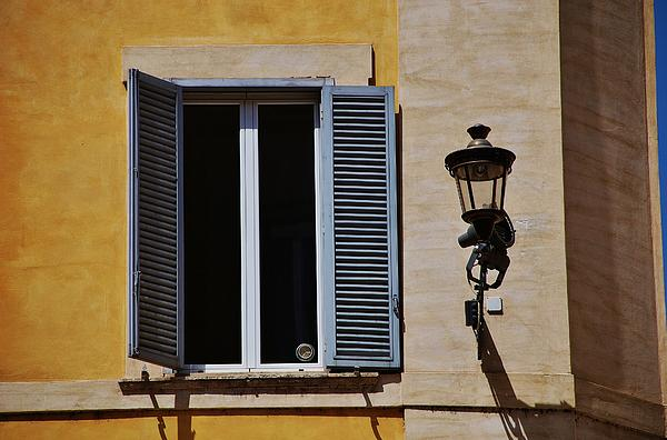 Window Photograph - Roman Window by Dany Lison