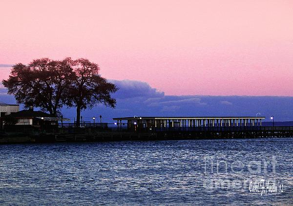 Romance Photograph - Romantic Seascape  by Carol F Austin