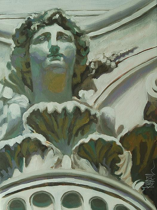 Rome Painting - Rome Statue by Khairzul MG