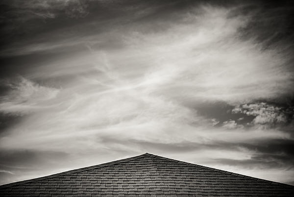 Rooftop Photograph - Rooftop Sky by Darryl Dalton