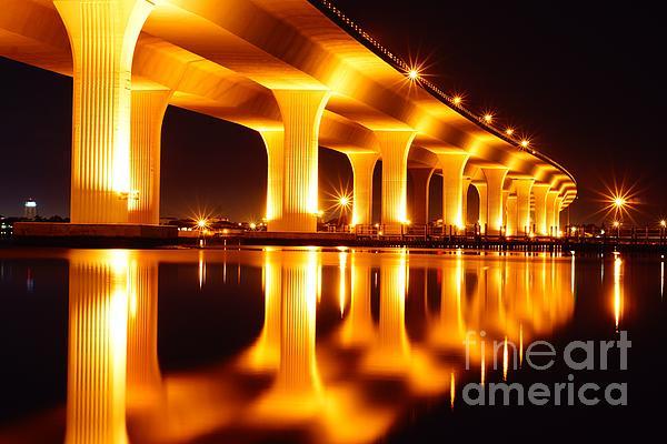 Bridge Photograph - Roosevelt Bridge by Lynda Dawson-Youngclaus
