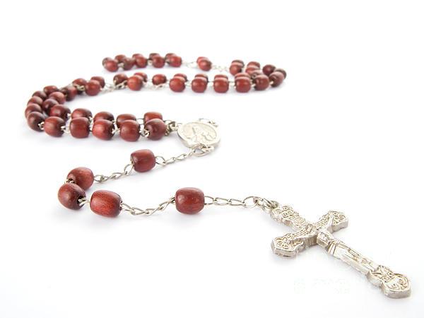 Rosary Photograph - Rosary Beads by Jose Elias - Sofia Pereira