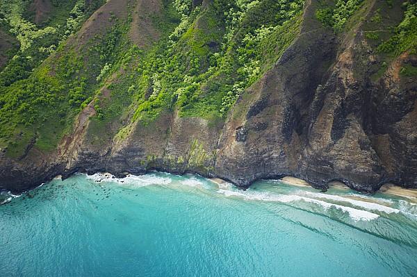 Beach Photograph - Rugged Na Pali Coast by Kicka Witte