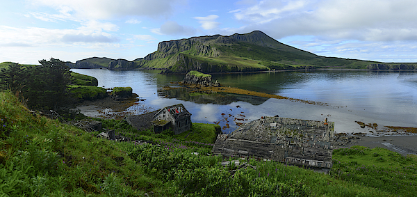 Ruins Of The Fishing Village Of Unga. Photograph by Raul Touzon