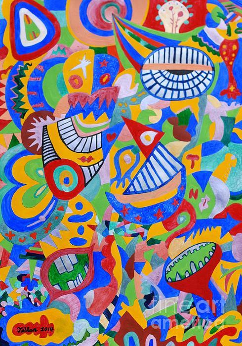 Rumor Painting - Rumor By Taikan by Taikan Nishimoto