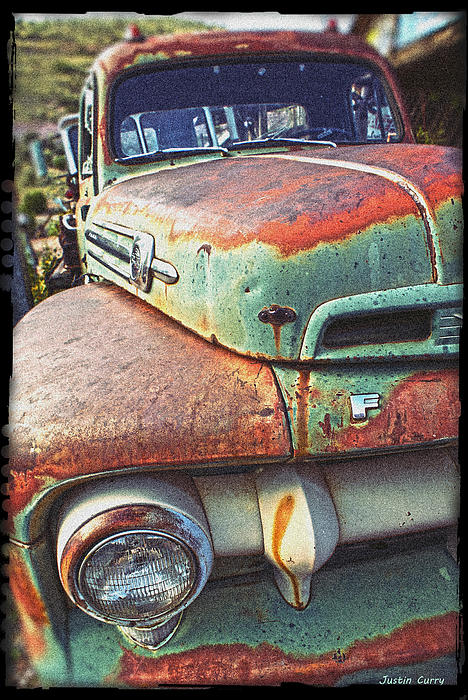 Mater Photograph - Rust Or Bust by Justin  Curry