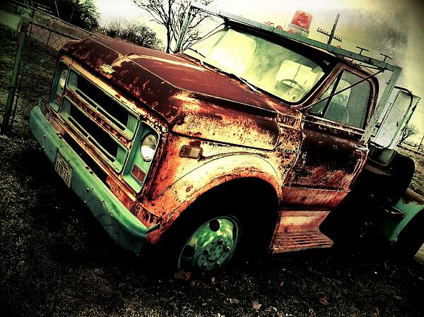 Cars Photograph - Rusted And Busted by Denisse Del Mar Guevara