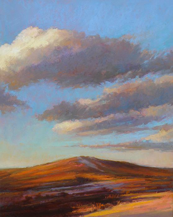 Sand Dune Painting - Sacred Dune by Ed Chesnovitch
