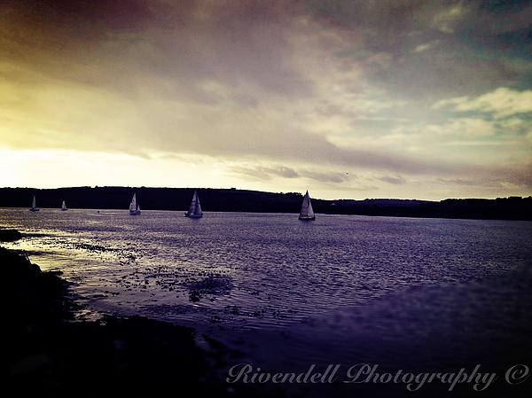 Canvas Prints Photograph - Sailing In Kinsale by Maeve O Connell