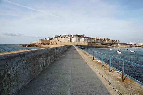 Bretagne Pastel - Saint Malo France by Francesco Emanuele Carucci