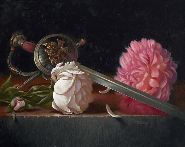 Sword Painting - Salamanca by Timothy Jones