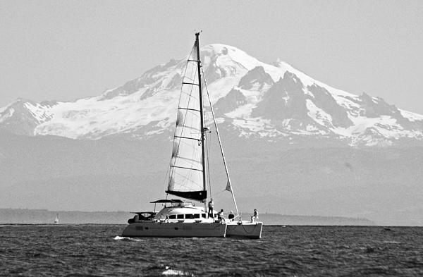 Boat Photograph - Salish Sea Gem by Annie Pflueger
