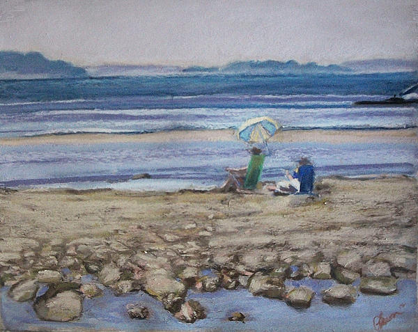 Mid Coast Maine Pastel - Saltair by Grace Keown