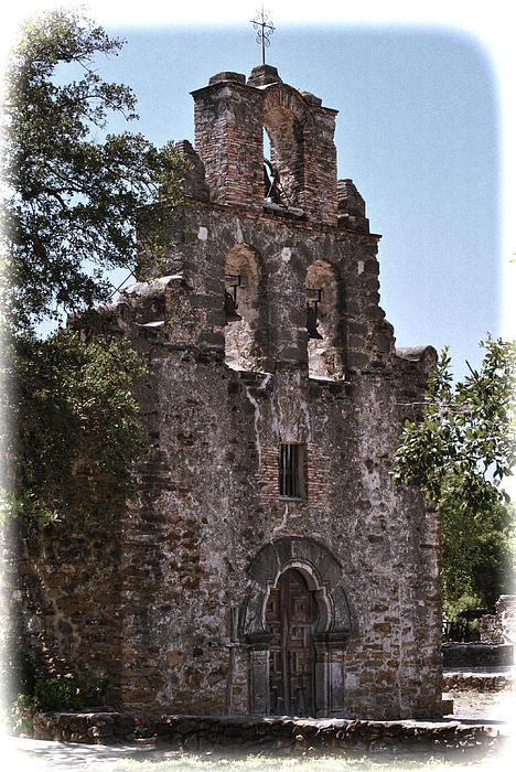 San Antonio Photograph - San Antonio Mission by Kathy Williams-Walkup