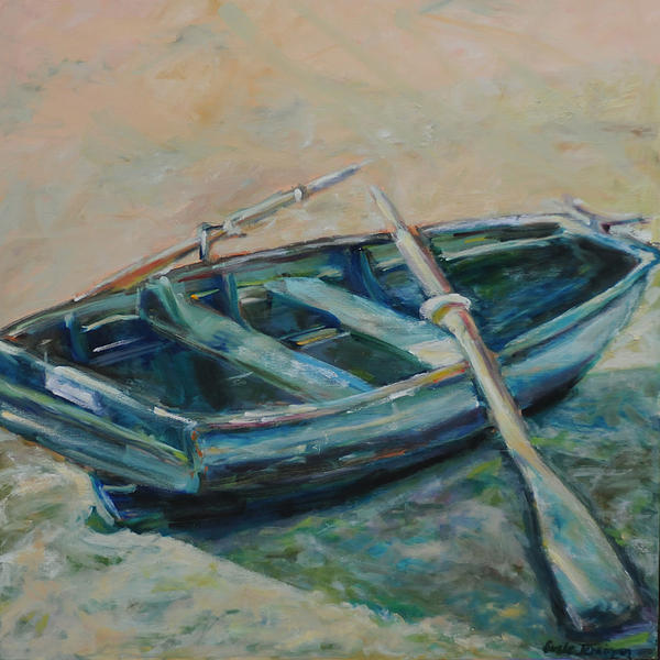 Boat Painting - San Francisco Dinghy by Susie Jernigan