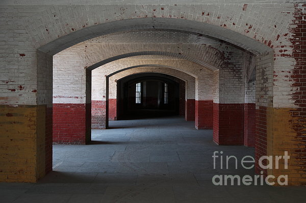 San Francisco Photograph - San Francisco Fort Point 5d21544 by Wingsdomain Art and Photography