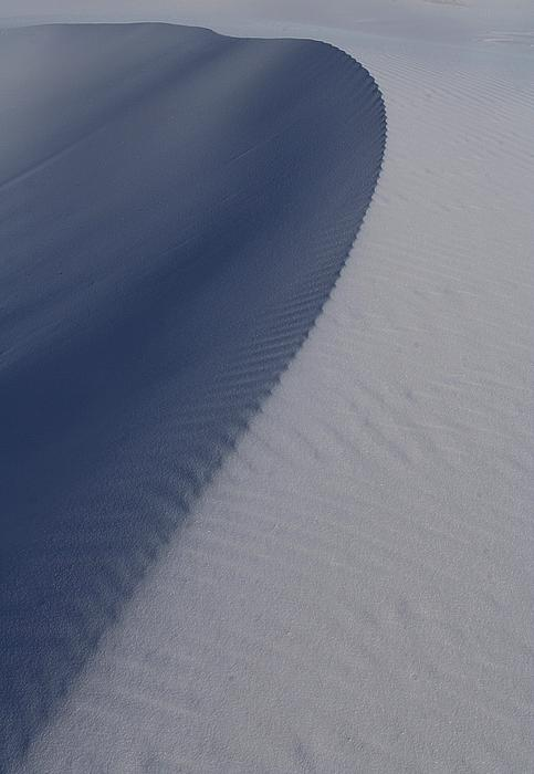 Ripples Photograph - Sand Dunes At White Sands National Monument by Jetson Nguyen