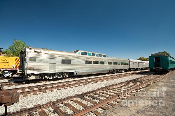 Metallic Photograph - Santa Fe Railyard by Jim Pruitt