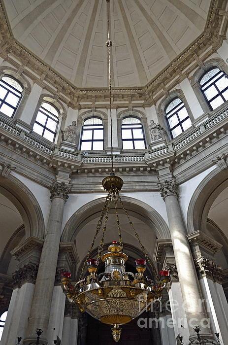 Arch Photograph - Santa Maria Della Salute Church by Sami Sarkis