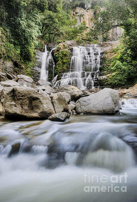 Beauty In Nature Photograph - Santo Cristo Falls by Oscar Gutierrez