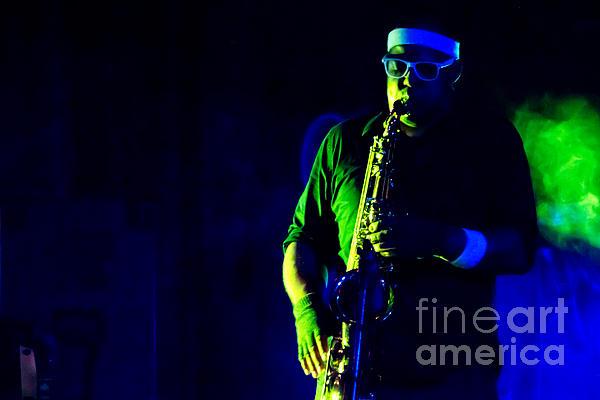 Saxophone Photograph - Saxophone by Jill Hyland