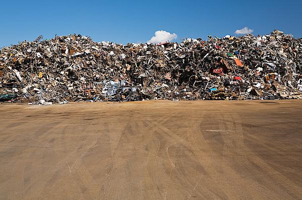 Scrap Heap Photograph by Image Source