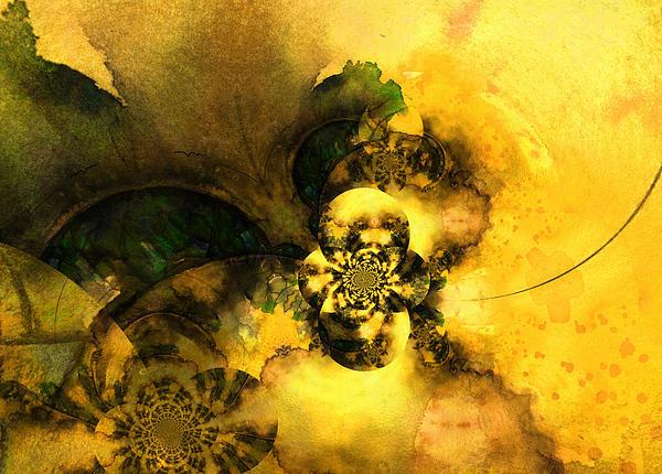 Digital Painting - Scream Of Nature by Miki De Goodaboom