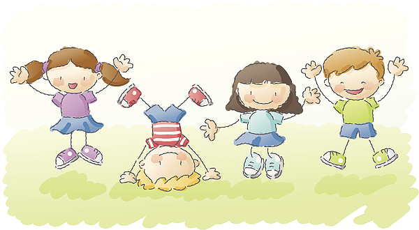 Scribbles: Jump For Joy! Drawing by Kemie