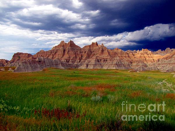 Badlands Photograph - Sea Of Color by Laurie Wilcox