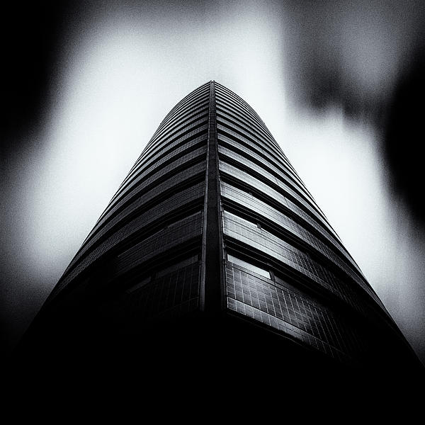 Architecture Photograph - Seam by Dave Bowman
