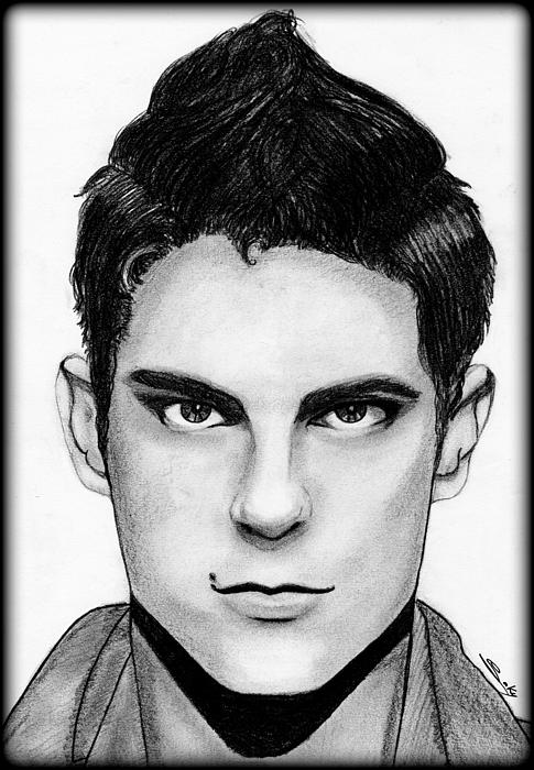 Actor Painting - Sean Faris by Saki Art