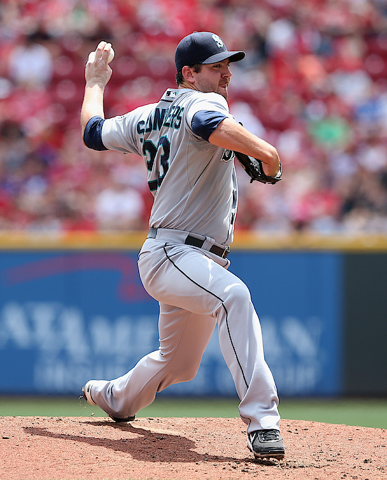 Seattle Mariners V Cincinnati Reds Photograph by Andy Lyons