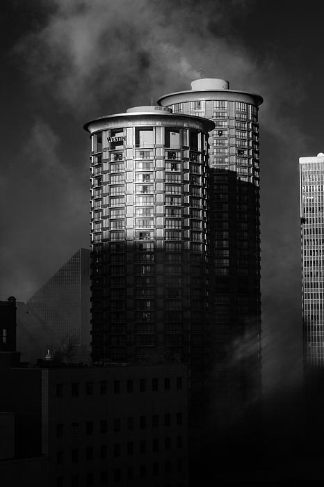 Montana Photograph - Seattle Towers by Paul Bartoszek